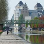サンマルタン運河(パリ郊外)