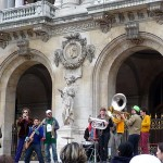 街角の音楽(パリ)