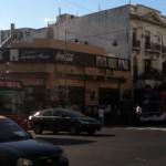 ブエノスアイレスの街角(アルゼンチン)